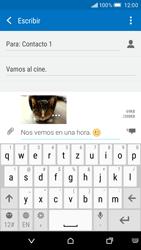Envía fotos, videos y audio por mensaje de texto - HTC One M9 - Passo 16