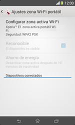 Configura el hotspot móvil - Sony Xperia E1 D2005 - Passo 10