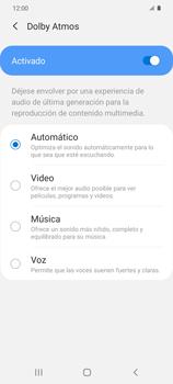 Cómo reproducir sonido con el Dolby Atmos - Samsung Galaxy S20 - Passo 8