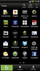 Configura el hotspot móvil - HTC One S - Passo 3