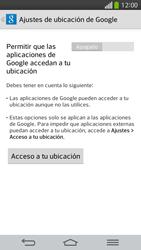 Uso de la navegación GPS - LG G Flex - Passo 22