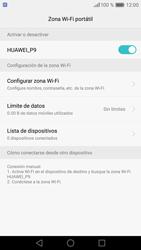 Configura el hotspot móvil - Huawei P9 - Passo 11