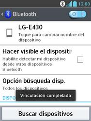 Conecta con otro dispositivo Bluetooth - LG Optimus L3 II - Passo 9