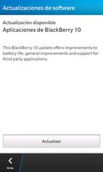 Actualiza el software del equipo - BlackBerry Z10 - Passo 6