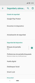 Cómo cambiar el código de bloqueo de pantalla de tu teléfono - Motorola One Vision (Single SIM) - Passo 10