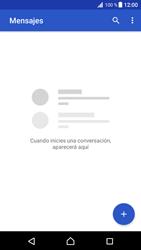 Envía fotos, videos y audio por mensaje de texto - Sony Xperia XZ Premium - Passo 3