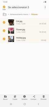 Transferir datos desde tu dispositivo a la tarjeta SD - Samsung Galaxy A30 - Passo 8