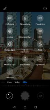 Modo profesional - Huawei Nova 5T - Passo 6