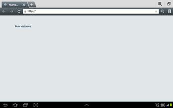 Configura el Internet - Samsung Galaxy Note 10-1 - N8000 - Passo 20