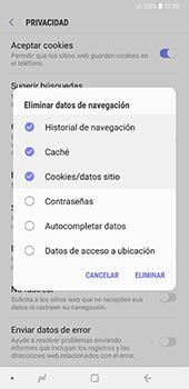 Limpieza de explorador - Samsung A7 2018 - Passo 11