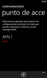Configura el Internet - Nokia Lumia 925 - Passo 9