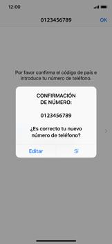 Configuración de Whatsapp - Apple iPhone X - Passo 9