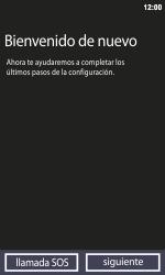 Activa el equipo - Nokia Lumia 800 - Passo 5