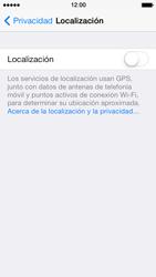 Uso de la navegación GPS - Apple iPhone 5s - Passo 7