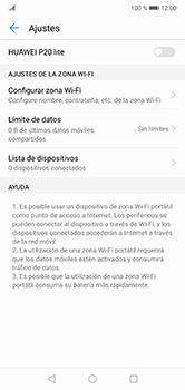 Configura el hotspot móvil - Huawei P20 Lite - Passo 9
