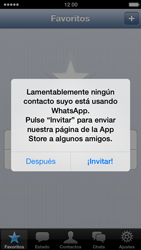 Configuración de Whatsapp - Apple iPhone 5c - Passo 12