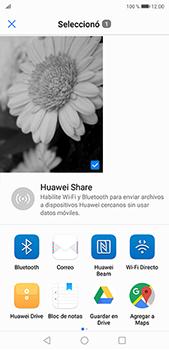 Función de fotografía monocroma - Huawei P20 Pro - Passo 7