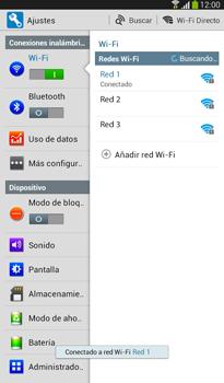 Configura el WiFi - Samsung Galaxy Tab 3 7.0 - Passo 7