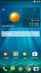 Envía fotos, videos y audio por mensaje de texto - Acer Liquid Z410 - Passo 1