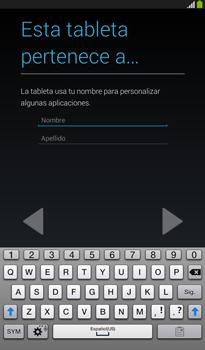 Activa el equipo - Samsung Galaxy Tab 3 7.0 - Passo 13