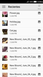 Envía fotos, videos y audio por mensaje de texto - Huawei Y3 II - Passo 12