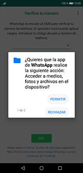 Configuración de Whatsapp - Huawei P20 - Passo 6