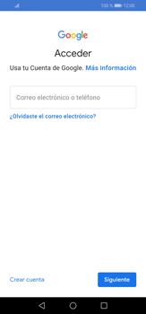 Crea una cuenta - Huawei P30 Lite - Passo 3