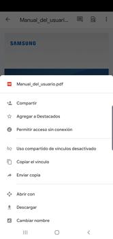 Descargar contenido de la nube - Samsung S10+ - Passo 8