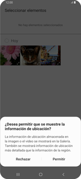 Envía fotos, videos y audio por mensaje de texto - Samsung Galaxy A80 - Passo 16