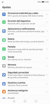 Verificar el uso de datos por apps - Huawei P20 Pro - Passo 2