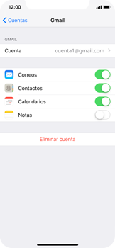 Desactivar la sincronización automática - Apple iPhone XS - Passo 5