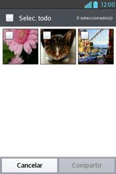Transferir fotos vía Bluetooth - LG L4 II - Passo 6