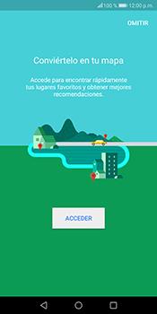 Uso de la navegación GPS - Huawei Mate 10 Lite - Passo 4