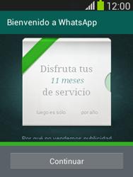 Configuración de Whatsapp - Samsung Galaxy Pocket Neo - S5310L - Passo 9