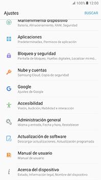 Restaura la configuración de fábrica - Samsung Galaxy A7 2017 - A720 - Passo 4