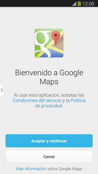 Uso de la navegación GPS - Samsung Galaxy Note Neo III - N7505 - Passo 4