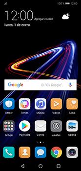 Envía fotos, videos y audio por mensaje de texto - Huawei P20 Lite - Passo 1