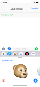 Enviar Animoji - Apple iPhone XS - Passo 14