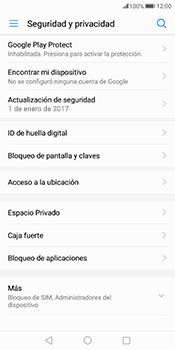 Desbloqueo del equipo por medio del patrón - Huawei Mate 10 Pro - Passo 4