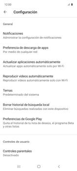 Cambiar configuración de actualizaciones de aplicaciones - Samsung Galaxy A51 - Passo 11