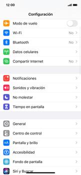 Restaura la configuración de fábrica - Apple iPhone XS - Passo 3