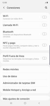 Cómo activar NFC - Samsung Galaxy Note 10 - Passo 5