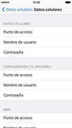 Configura el Internet - Apple iPhone SE - Passo 7