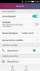 Conecta con otro dispositivo Bluetooth - Huawei Y3 II - Passo 8