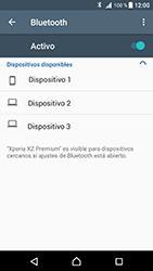 Conecta con otro dispositivo Bluetooth - Sony Xperia XZ Premium - Passo 6