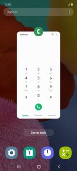 Cómo ver dos aplicaciones a la vez en pantalla - Samsung Galaxy A51 - Passo 3