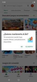 Cambiar configuración de actualizaciones de aplicaciones - Samsung Galaxy A51 - Passo 5