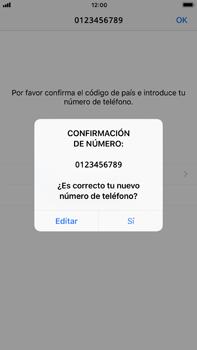 Configuración de Whatsapp - Apple iPhone 7 Plus - Passo 9