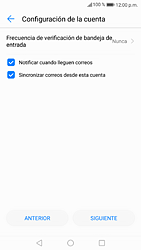 Configura tu correo electrónico - Huawei P9 Lite 2017 - Passo 20