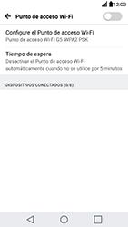 Configura el hotspot móvil - LG G5 - Passo 5